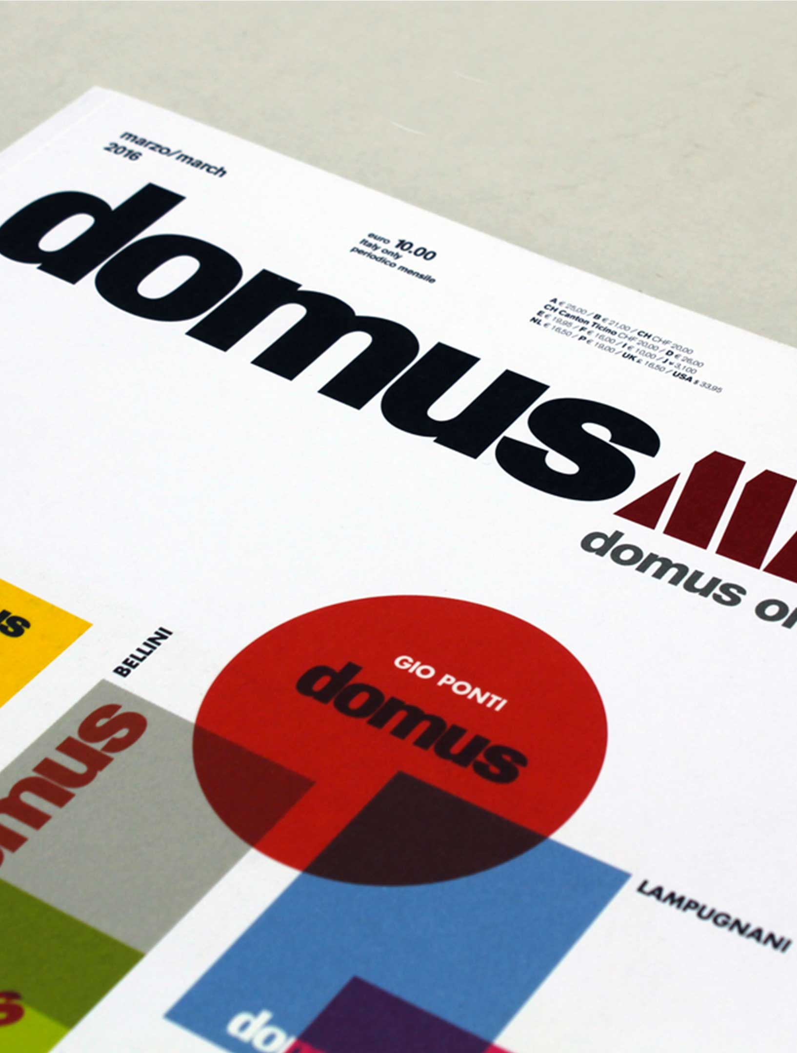 Publications zeus noto for Domus book collection